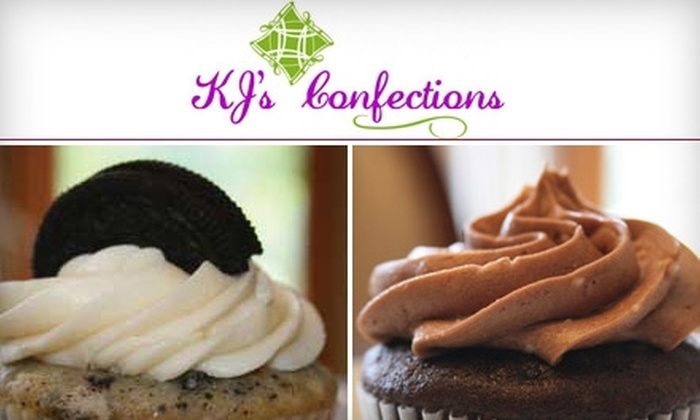 KJ's Confections - Utica: $6 for Six Cupcakes or 12 Mini Cupcakes at KJ's Confections in Shelby Township ($12 Value)