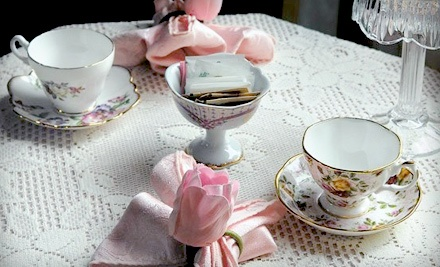 Afternoon Tea for 2 and 2 Teacup Ornaments (a $49 value) - The Spring Seasons Inn Tea Room in Newport