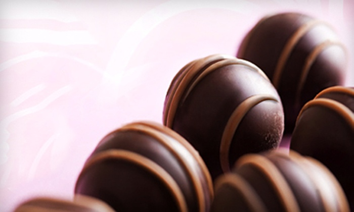 Fowler's Chocolates - Multiple Locations: $5 for $10 Worth of Gourmet Chocolate at Fowler's Chocolates