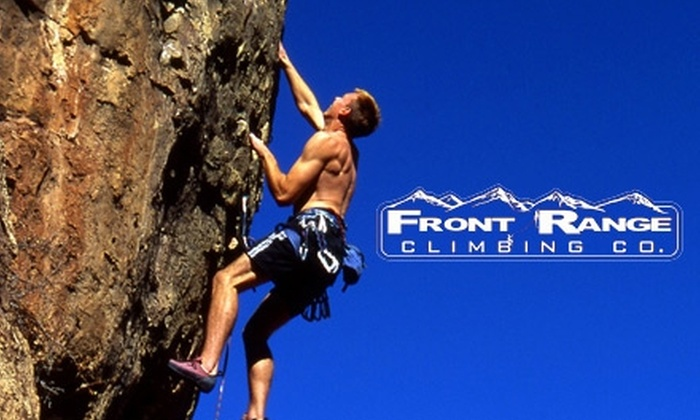 Front Range Climbing Company - Colorado Springs: $55 for a Four-Hour Intro to Climbing Trip With a Guide and Gear from Front Range Climbing Company ($165 Value)