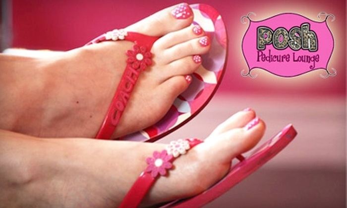Posh Pedicure Lounge - Central London: $15 for $35 Worth of Manis, Pedis, Waxing, and Facials at Posh Pedicure Lounge