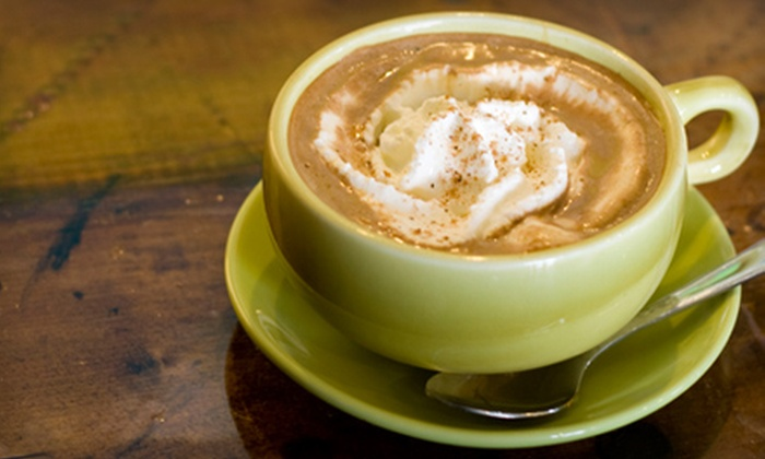 Sippers Coffeehouse - Deerwood: 10 Medium Coffees or Medium Specialty Coffee Drinks at Sippers Coffeehouse (Up to 54% Off)