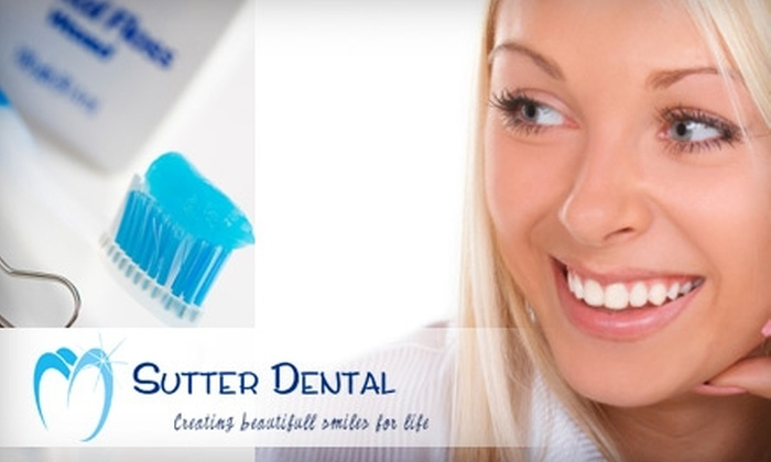 Sutter Dental - Downtown: $195 for an In-Office Zoom! Teeth Whitening at Sutter Dental ($599 Value)