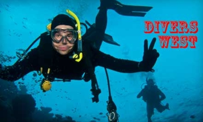 Divers West - East Sunset Heights: $15 for an Introductory Try Scuba Diving Class at Divers West ($35 Value)