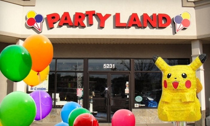 Party Land - Sioux Falls: $10 for $20 Worth of Party Supplies at Party Land