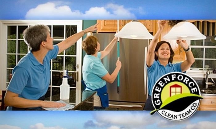 Greenforce Clean Team - San Francisco: $40 Kitchen and Bathroom Cleaning from Greenforce Clean Team ($89 Value)