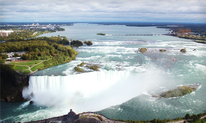 Embassy Suites by Hilton Niagara Falls - Niagara Falls: One-Night Stay in a City- or Falls-View Suite with Dining Credits and Wine Tour at Embassy Suites by Hilton Niagara Falls in Niagara Falls, ON