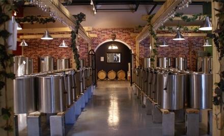 West Wine Garden at 100 Schneider Rd.  - The Wine Garden Warehouse Winery in Ottawa