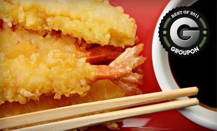$30 Groupon to Timsan's Japanese Steak House - Timsan's Japanese Steak House in Green Bay