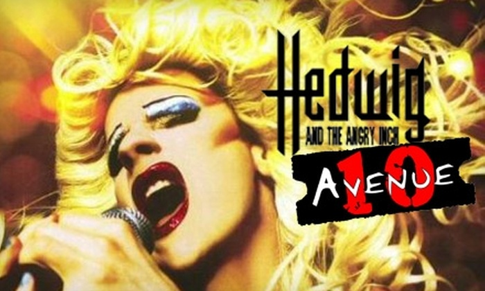 "Avenue 10 - Downtown Amarillo: $10 for Two Tickets to ""Hedwig and the Angry Inch"" Presented by Avenue 10 ($20 Value). Four Performances Available."