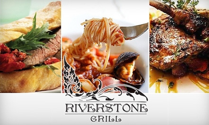 The Riverstone Grill - Grand Island: $12 for $25 Worth of Upscale Dining and Drinks at The Riverstone Grill