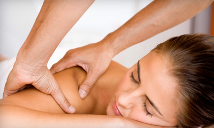The Rub Club in de Barros Chiropractic Clinic  - Mechanicsville: Chiropractic Package or Massage at The Rub Club in de Barros Chiropractic Clinic in Mechanicsville (Up to 86% Off)