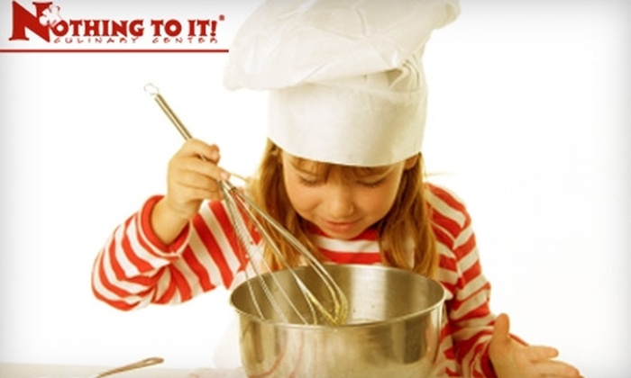 Nothing to It! Culinary Center - Convention Center: $30 for $75 Toward Hands-On Cooking Classes at Nothing To It! Culinary Center