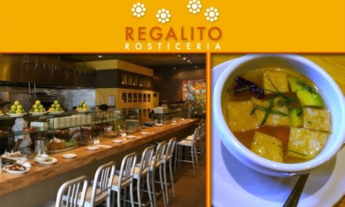 Regalito Rosticeria - Mission Dolores: $15 for $35 Worth of Traditional Mexican Market Food at Regalito Rosticeria
