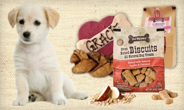 Three Dog Bakery - Chicago: $7 for $15 Worth of All-Natural, Fresh-Baked Dog Food and Treats at Three Dog Bakery