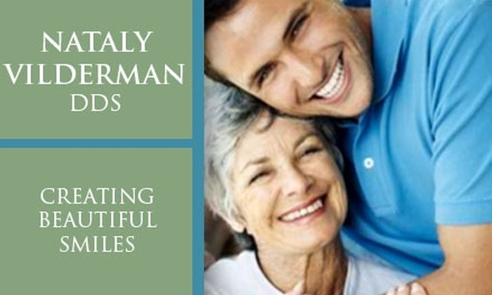 Nataly Vilderman, DDS - San Francisco State University: $180 for Consultation, Cleaning, and Whitening ($618 Value)