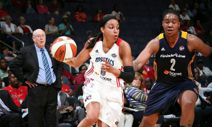 Washington Mystics - Verizon Center: Washington Mystics WNBA Game at the Verizon Center (Up to 41% Off). Three Dates and Two Seating Options Available.