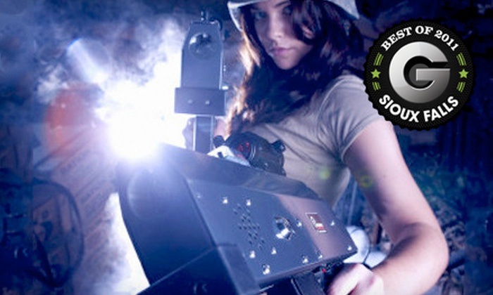 Galaxy Gaming - Sioux Falls: 30- or 60-Minute Indoor Laser-Combat Session for Four or a Private Party for Four or More at Galaxy Gaming (Half Off)