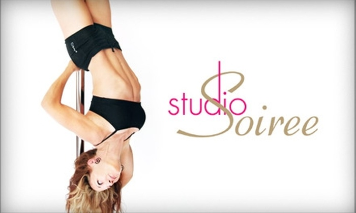 Studio Soiree - Multiple Locations: $69 for Five Pole-Dancing Fitness Classes at Studio Soiree ($149 value)