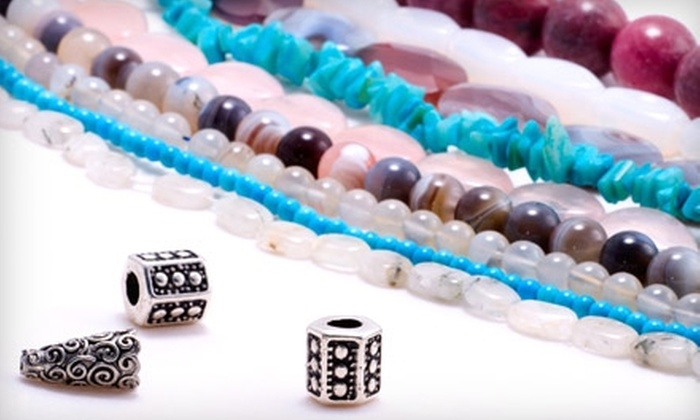 Bead Me by Linda Minor - Dilworth: $15 for $30 Toward Supplies, Finished Designs, or Jewelry-Making Classes at Bead Me by Linda Minor