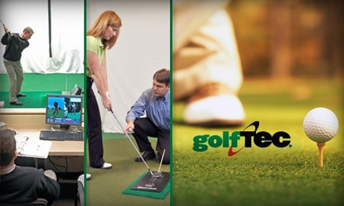 GolfTEC - Multiple Locations: $50 for a One-Hour Swing Analysis Program at GolfTEC and $10 Gift Certificate to Golfsmith