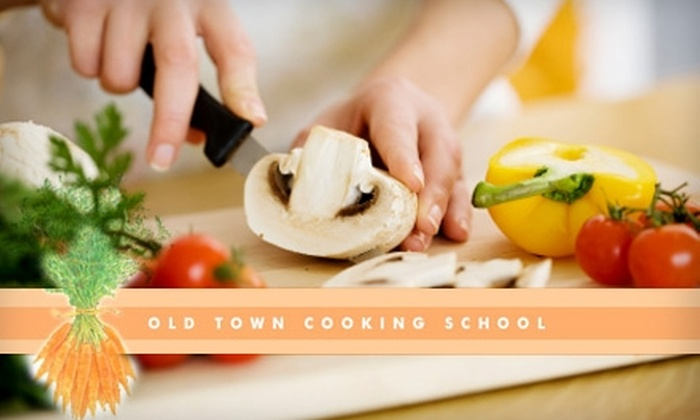 Old Town Cooking School - Multiple Locations: Cooking Classes for One or Two at Old Town Cooking School. Two Options Available.