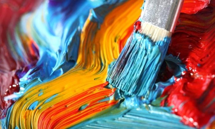 Evangelia Decorative Art Studio - Burnaby: $25 for a Two-Hour Canvas-Art Workshop at Evangelia Decorative Art Studio in Burnaby ($50 Value)
