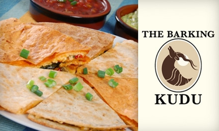 The Barking Kudu - Southside: $7 for $14 Worth of Lunch and Late-Night Fare at The Barking Kudu