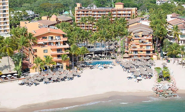 TripAlertz wants you to check out ✈ 4 Night All-Incls Villa del Palmar Puerto Vallarta Stay w/Air from Travel by Jen. Price/Person Based on Dbl Occupancy ✈ All-Inclusive Villa del Palmar Stay w/ Air from Travel by Jen - Puerto Vallarta Vacation w/ Air