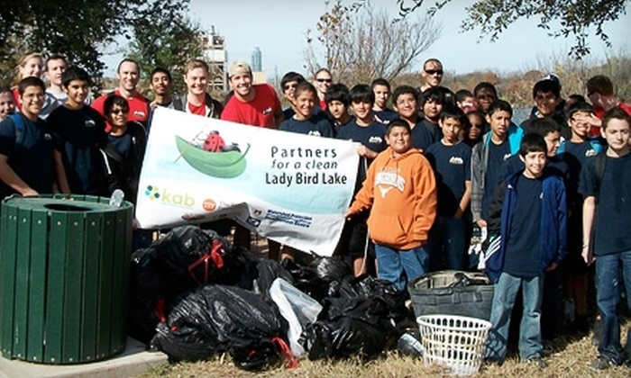 Keep Austin Beautiful - Austin: Donate $10 to Help Keep Austin Beautiful Equip Volunteers with Safety Vests and Tools
