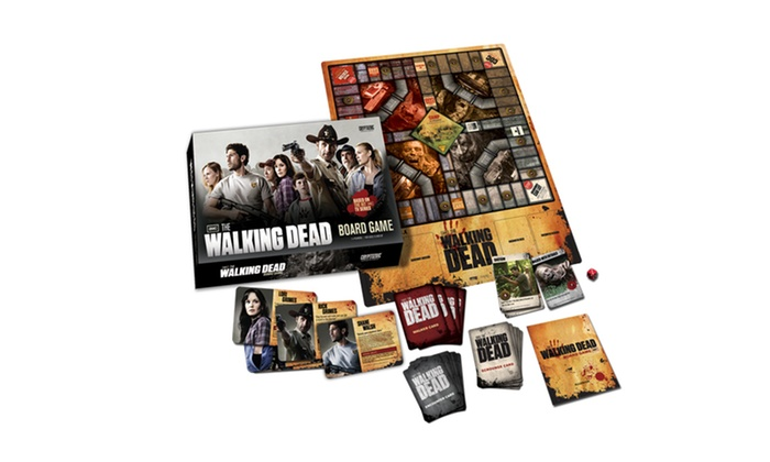 The Walking Dead Board Game: The Walking Dead Board Game. Free Returns.