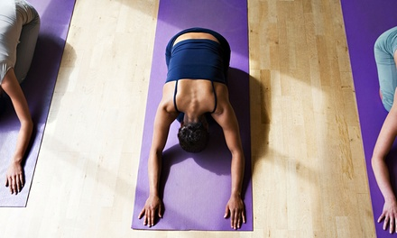 10 or 20 Yoga Classes at Cherise's Heavenly Fitness (Up to 77% Off)