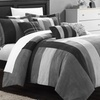Chic Home Regina Seven-Piece Microsuede Comforter Sets