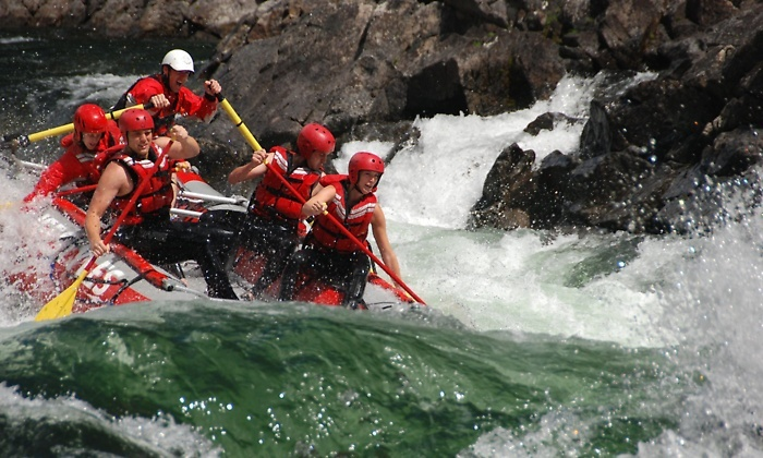 Liquid Lifestyles Whitewater Rafting - Clearwater: C$65 for C$109 Worth of Whitewater Rafing Trip at Liquid Lifestyles Whitewater Rafting
