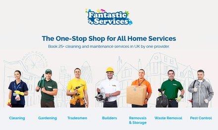 £20 Toward Home Services from Fantastic Services (80% Off) (Merchandising (UK))