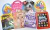 Mini Coloring & Sticker Book 8-Pack: Mini Coloring & Sticker Book 8-Pack