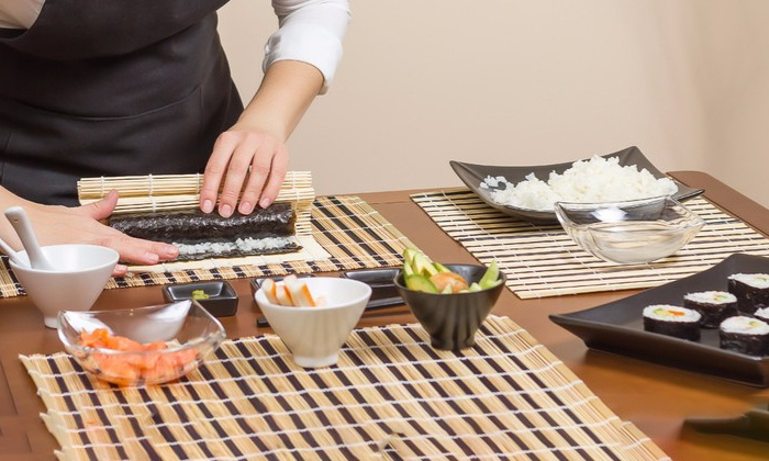 Roll Sushi Roll - Multiple Locations: BYOB Sushi-Making Class for One, Two, or Four from Roll Sushi Roll (Up to 62% Off)