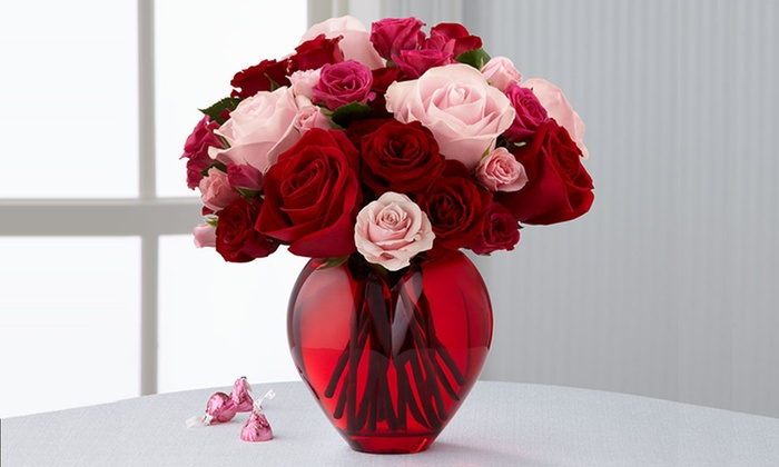 valentine's day flowers from ftd - ftd | groupon, Ideas