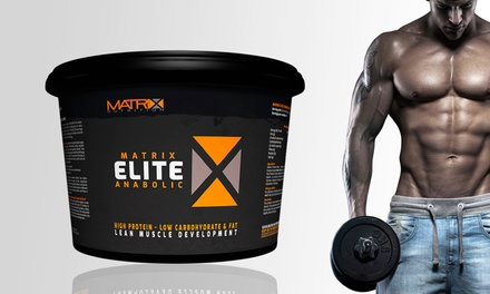 2.25kg or 5kg Matrix Elite Anabolic Protein