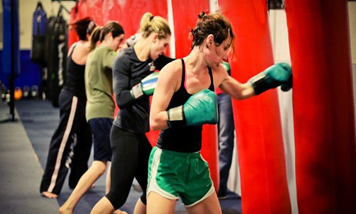 FTF Fitness and Self Defense - Gastonia: One Month of Unlimited Fitness or Fitness and Martial-Arts Classes at FTF Fitness and Self Defense (Up to 75% Off)