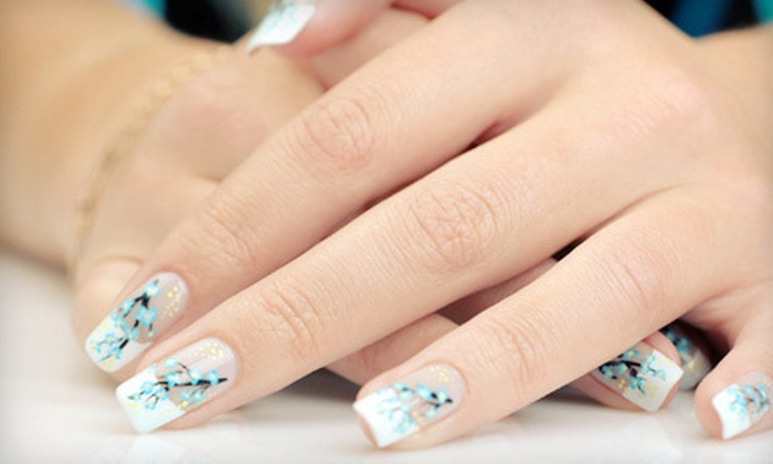 Nail Secret - Paradise: Full LCN Nail Set or Manicure with Shellac or Basic Polish at Nail Secret (Up to 55% Off)