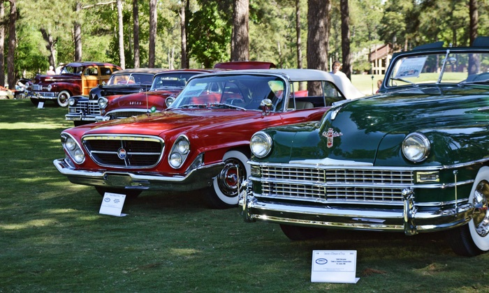 Concours d'Elegance of Texas - La Torreta Lake Resort and Spa: Admission for One, Two, or Four to the Concours d'Elegance of Texas on Sunday, April 26 (37% Off)