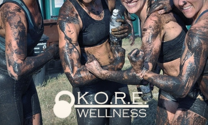 K.O.R.E. Wellness - Downtown Columbia: $20 for a 12-Class Pass to Any Fitness Class at K.O.R.E. Wellness ($40 Value)