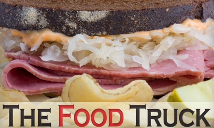 The Food Truck - Midtown: $5 for $10 Worth of Gourmet Sandwiches and More at The Food Truck