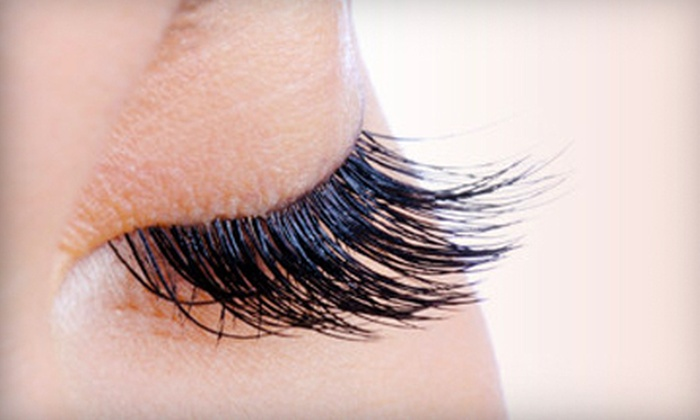 Skincare Solutions - North Raleigh: Semipermanent Eyelash Extensions for Top or Both Eyelids at Skincare Solutions (Up to 67% Off)