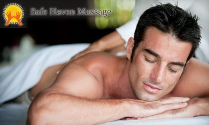 Safe Haven Massage - Carlen: $35 for $75 Worth of Massage Services at Safe Haven Massage