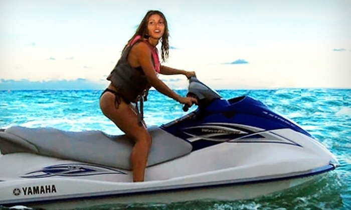 Miami Beachsports - Oceanfront: $79 for a One-Hour WaveRunner Rental and Two Chair Rentals at Miami Beachsports in Miami Beach (Up to $160 Value)