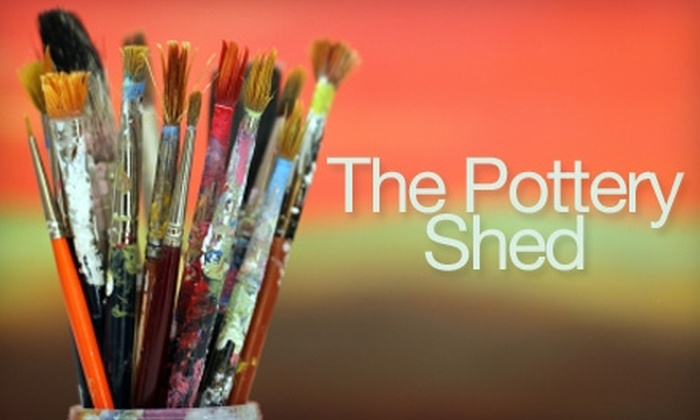 The Pottery Shed - Cheney: $10 for $20 Worth of Paint-Your-Own Pottery at The Pottery Shed