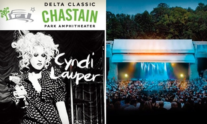 Delta Classic Chastain Park Amphitheater - Chastain Park: $29 for One Ticket to Cyndi Lauper at Chastain Park Amphitheater ($54.80 Value)