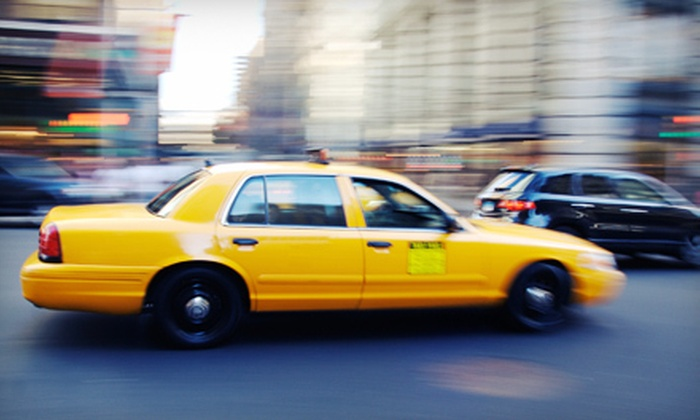 Uber - Near North Side: $5 for $10 Worth of Taxi Cab Services from Uber